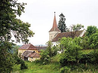 Mihăileni, Sibiu - Image: Martinsdorf 2