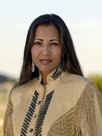 San Carlos Apache Indian Reservation - Mary Kim Titla, award-winning reporter/anchor