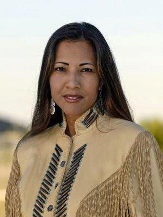 San Carlos Apache Indian Reservation - Mary Kim Titla, award-winning reporter/anchor
