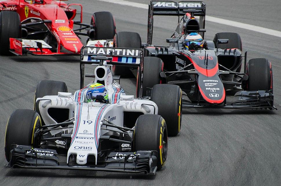 Massa Alonso Canada 2015