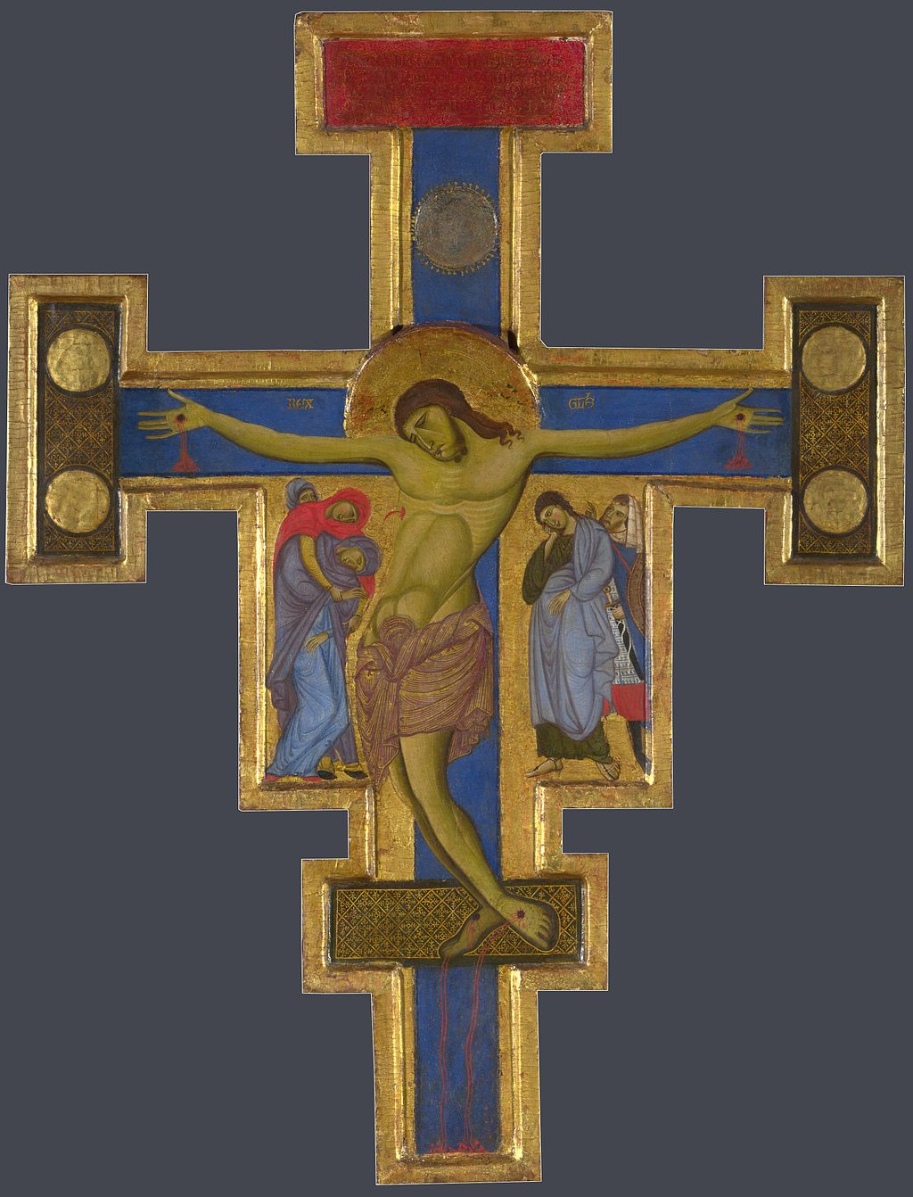 Master of St Francis. Crucifix