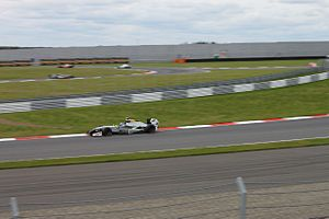 Matias Laine - Laine during Race 1 of the 2014 Formula Renault 3.5 Series season at Moscow Raceway.