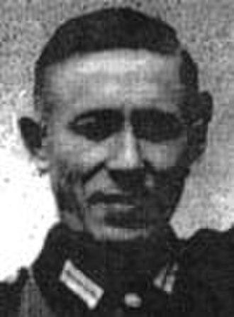 Treblinka trials - Image: Matthes, Heinrich
