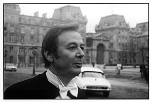 Maurice Biraud - Maurice Biraud photographed in 1976 by Olivier Meyer
