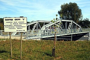 K. Rudzki i S-ka - Maurzyce Bridge, built in 1929