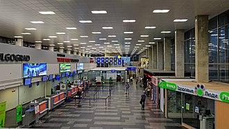 Volgograd International Airport - Old terminal interior