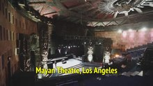 Mayan Theatre, Los Angeles (Historic Theatre Photography)