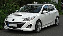 Marvelous Mazda3 MPS (Europe)