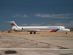 Paramount Airways McDonnell Douglas MD-83