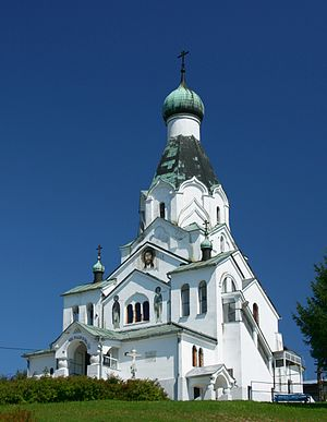 Orthodox Church of Holy Spirit in Medzilaborce...