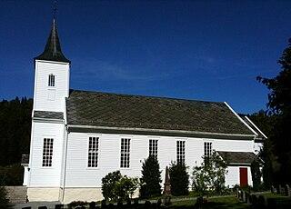 Meland Church Church in Vestland, Norway