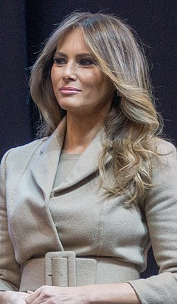 Melania Trump in February 2016 (cropped)