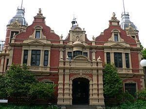 Melbourne Teachers' College - 1888 building
