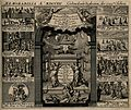 Memorial of European events from the year 1721. Engraving, c Wellcome V0007611.jpg