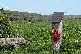Stoughton, West Sussex - Memorial to Bolesiaw Wiasnowolski V.M., K.W.