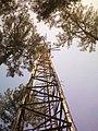Menara Pemancar PT.Kereta Api Indonesia di Gunung bukit Brojol, Kebasen.jpg