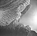 Mendenhall Glacier, valley glacier terminus and Mendenhall Lake, September 16, 1966 (GLACIERS 6005).jpg