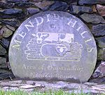 Logo of the Mendip Hills AONB