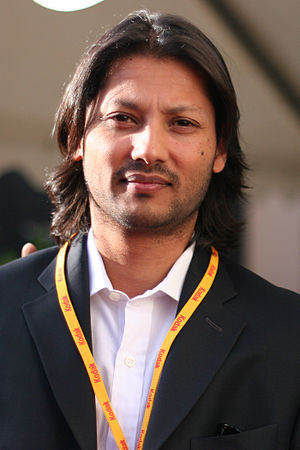 Menhaj Huda - Huda at the Dinard British film festival in France in October 2006