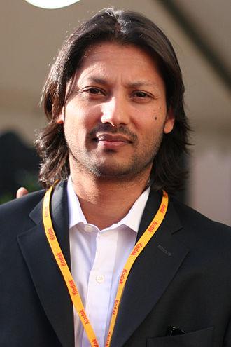 Menhaj Huda - Huda at the Dinard British film festival in France in October 2006