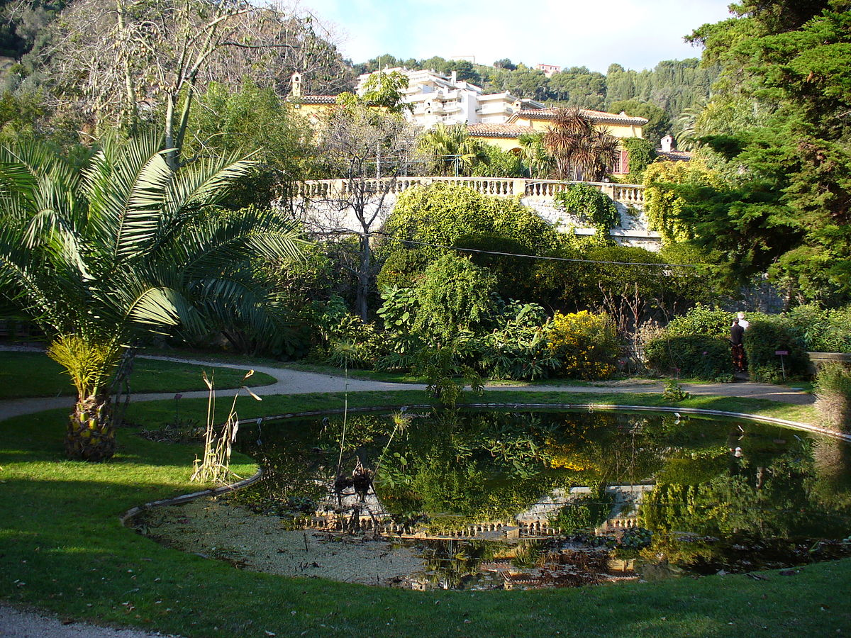 jardin botanique exotique de menton wikipedia. Black Bedroom Furniture Sets. Home Design Ideas