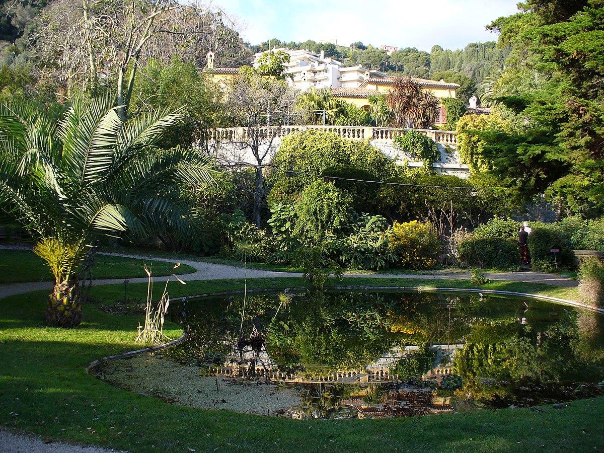 Jardin botanique exotique de menton wikipedia for Jardin botanique de conception