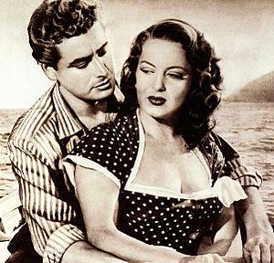 Alberto Farnese - Farnese and Yvonne Sanson in Falsehood (1952)
