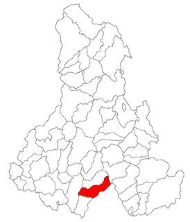 Merești Commune in Harghita, Romania