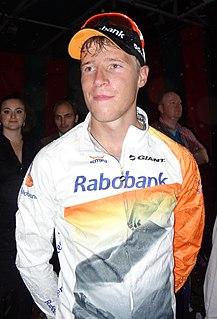 Ivar Slik Dutch cyclist
