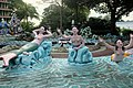 Mermaids at the pool, Haw Par Villa (14607300308).jpg