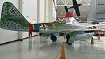 Messerschmitt Me 262 at the Evergreen Aviation & Space Museum 1.jpg