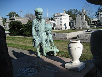 Metairie Cemetery - Monuments at Metairie Cemetery