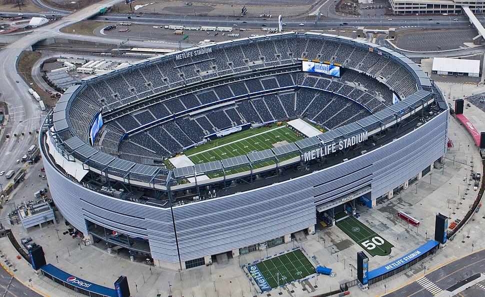 Metlife stadium (Aerial view)