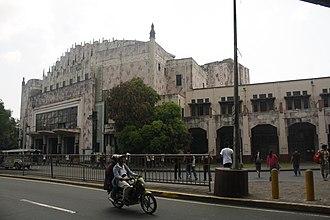 Ermita - Manila Metropolitan Theater along Padre Burgos Street