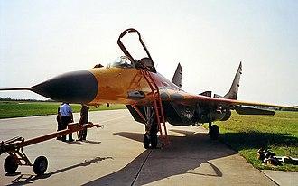 Taktisches Luftwaffengeschwader 73 - Image: Mi G 29 SRG 2