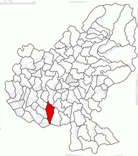 Mica, Mureș Commune in Mureș, Romania