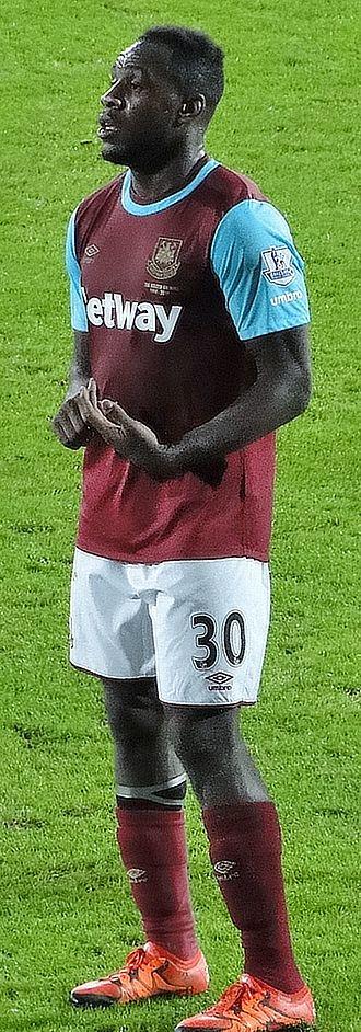 Michail Antonio - Antonio playing for West Ham United in 2015