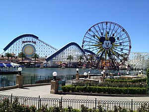 Disney California Adventure - Paradise Pier.
