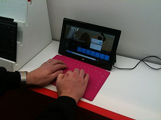 Microsoft Surface RT with touch cover - Wikimedia: Creative Commons Attribution 2.0 Generic license