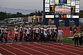 Midwestern State vs. Texas A&M–Commerce football 2016 03 (Midwestern State entrance).jpg