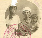 Migrants Suisses de Russie, environ 1921