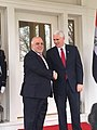 Mike Pence welcomes Haider al-Abadi at 1OC 2017 (2).jpg