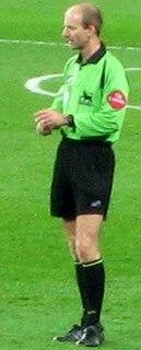 Mike Riley (referee) English football referee