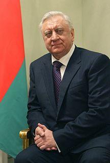 Mikhail Myasnikovich Prime Minister of Belarus