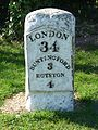 Milestone 34 on A10 at Buckland.jpg