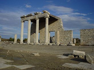 Thales of Miletus - The Ionic Stoa on the Sacred Way in Miletus