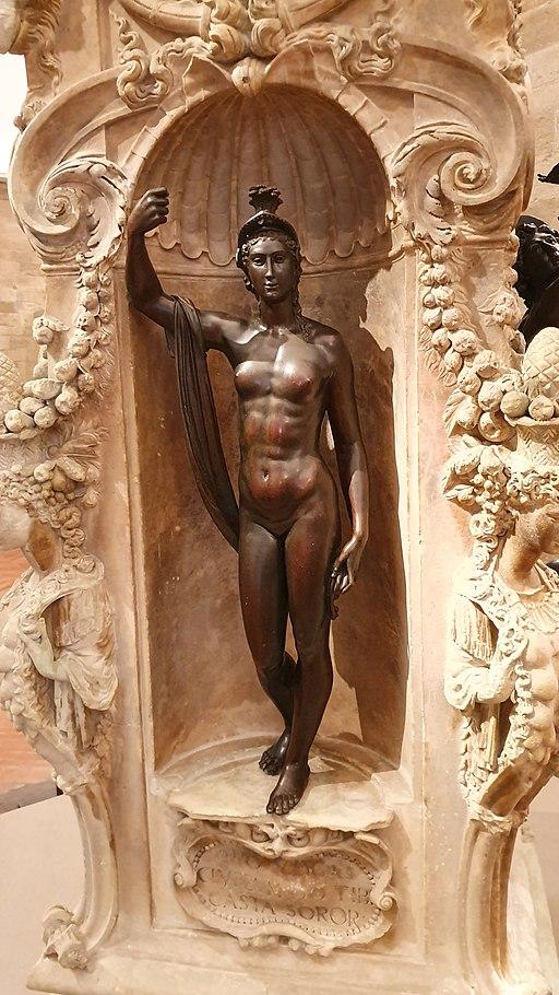 Minerva at Perseus by Benvenuto Cellini - Pedestal