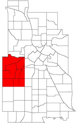 Uptown is within the Calhoun Isles community of the U.S. city of Minneapolis