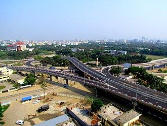 Banani Model Town - Mirpur-banani flyover