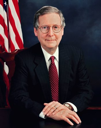 U.S. Senator Mitch McConnel of Kentucky.